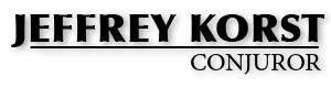 Conjuror Jeffrey Korst